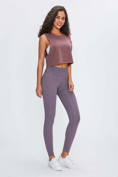 Summit Leggings Purple